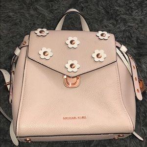Michel Kors Pink Backpack
